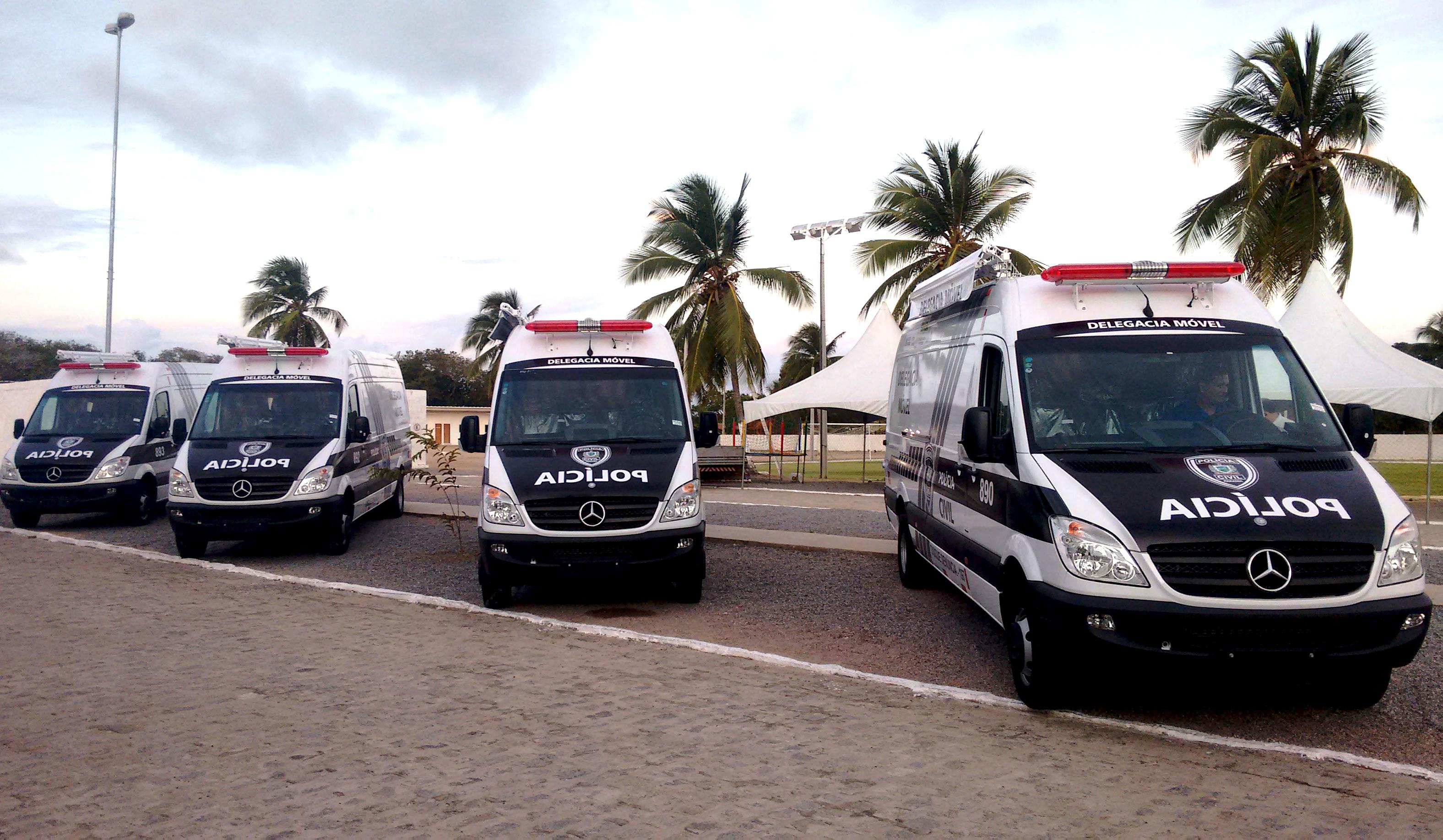 10 veículos que podem ser transformados em viaturas no Brasil!