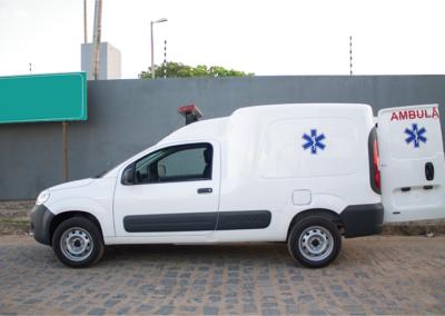 Ambulância Fiorino - Tecform Transformação Veicular