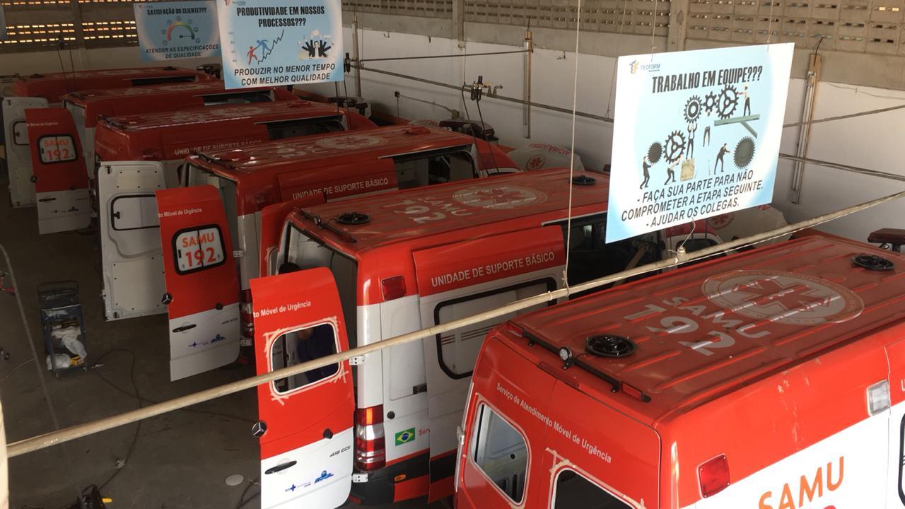 4 tipos de ambulâncias brasileiras